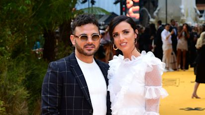 Ryan Thomas andd Lucy Mecklenburgh's baby joy