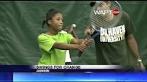 Jackson Prep Teaches Tennis
