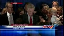 Angus King's victory speech