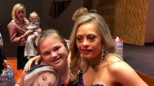Woman with Down syndrome makes beauty pageant first