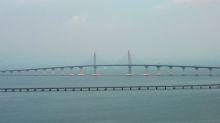 China inaugura puente marítimo más largo del mundo