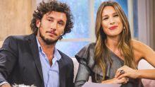 Pico Mónaco lloró en el primer programa de Pampita en Telefe