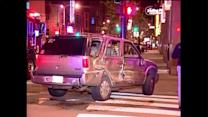Baby thrown from SUV in River North crash