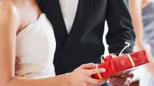 Sneaky detail exposes 'embarrassing' wedding gift fail