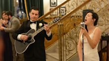 Bride And Groom Surprise Guests With Acoustic Performance