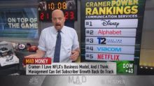 Cramer's 'power ranking' of communication services stocks