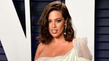 Ashley Graham shares picture of herself in labour on International Women's Day