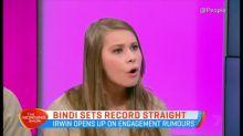 Bindi sets record straight