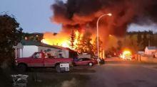 'I heard a huge explosion': Early-morning fire breaks out in Whitehorse's Hillcrest neighbourhood