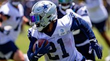 A year after testing positive for COVID-19, Cowboys' Ezekiel Elliott picked vaccination amid 'touchy subject' debate