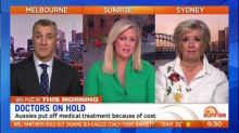 Aussies putting off medical treatment because of cost