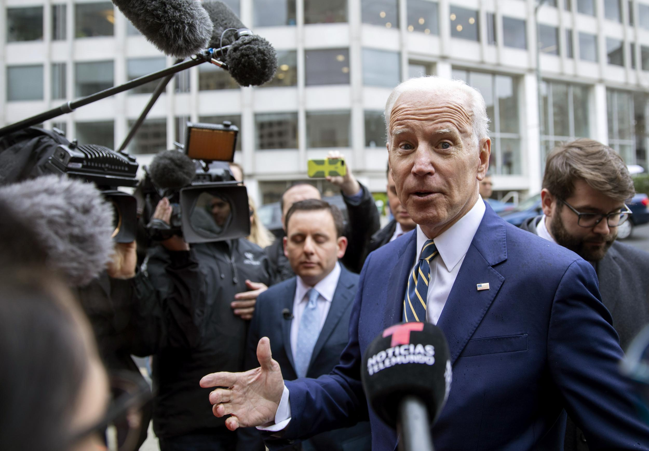 Biden claims Russian Federation wouldn't meddle in elections on his watch