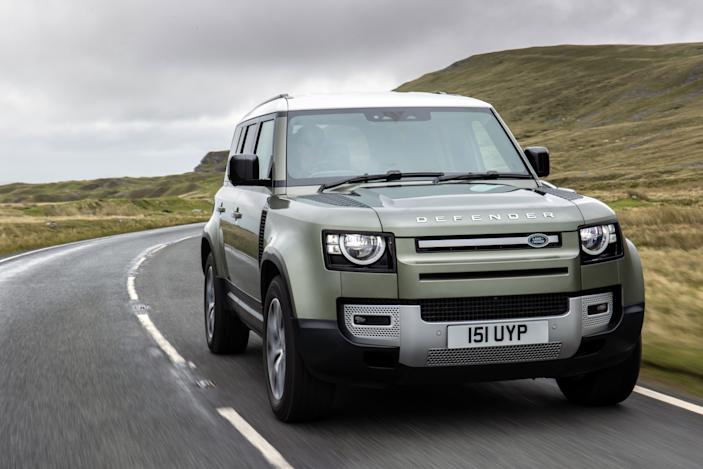 Jaguar Land Rover to test a hydrogen fuel cell-powered Defender this year