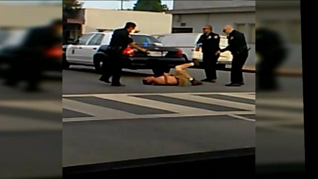 Police Accused Of Excessive Force In Videotaped Arrest