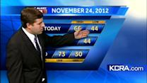 David's Saturday Update: a foggy start for Northern California