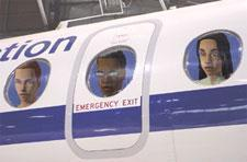 Sims on a plane