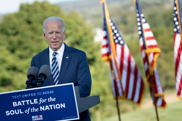 The latest polls forecast a huge victory for Joe Biden -- CNN's new survey gave the Democrat a national advantage of 57 percent to 41 percent among likely voters, with women voters going 66 to 32 percent in his favor