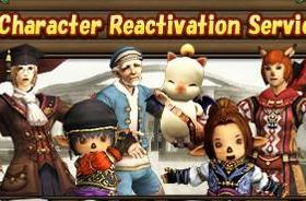 Final Fantasy XI's character reactivation service lets you bring deleted characters back to life