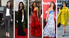 Amal Clooney's best fashion moments: From red carpet dressing to meeting the pope