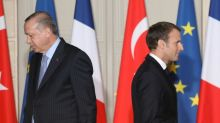 Macron and Erdogan, no love lost