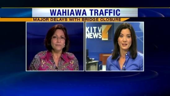 Traffic nightmare hits Central Oahu