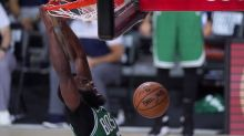 Jaylen Brown leads the Boston Celtics to victory over the Miami Heat