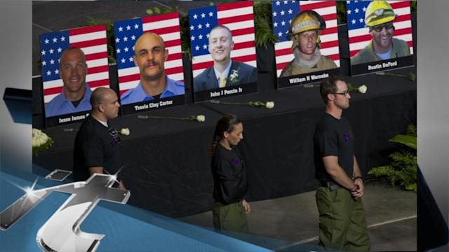 Disaster & Accident Breaking News: Service Honors 19 Hotshots Killed in Arizona Fire