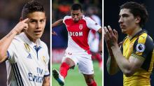 Gossip: Only four clubs 'can afford Mbappe', Rodriguez 'desperate' to join Manchester Utd, Barcelona 'put off by Bellerin price tag'