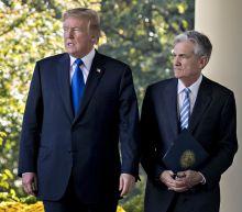 Trump Calls Fed a 'Problem,'Says He Wants Lower Interest Rates