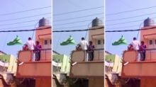 Bengaluru Woman Asked to Remove Green Flag, Say Bharat Mata Ki Jai