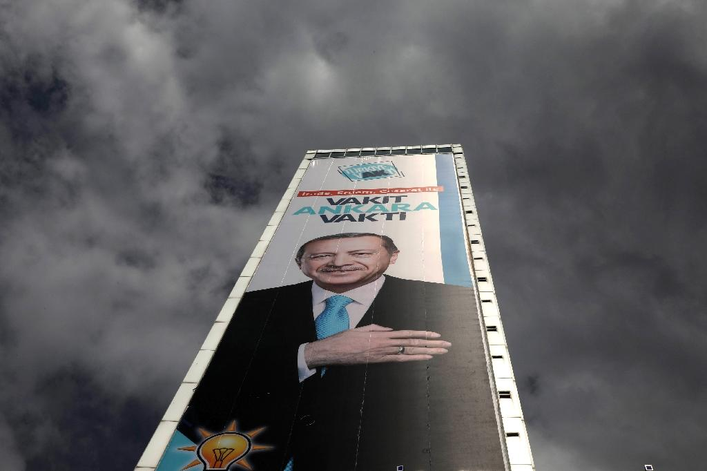 Turkish President Recep Tayyip Erdogan will want to win a new mandate in Sunday's first round of the presidential election but the opposition could force a run-off on July 8