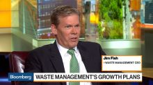 Waste Management CEO Says Recycling Prices Down, Economic Strength Making Hiring Difficult