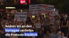 Erneut Demonstration in Belgrad gegen den serbischen Präsidenten