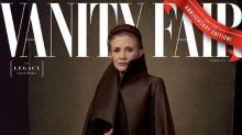 'Star Wars: The Last Jedi' First Look: Carrie Fisher on the Cover of 'Vanity Fair'