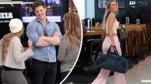 Bachelor Matt ditches Chelsie at Sydney airport