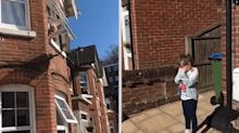 Entire street in Hampshire sings 'Happy Birthday' to little girl