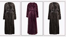 The luxurious M&S fleece dressing gown you need this winter