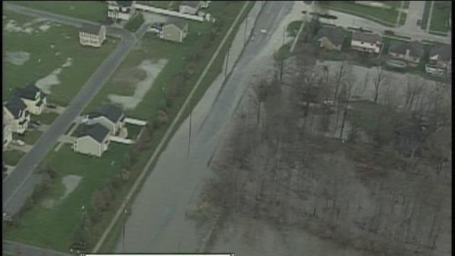 Chesterfield Twp. flooding