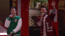 Andy Samberg Crashes 'The Voice' as Ridiculous 'Popstar' Character