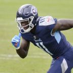 Tennessee Titans' A.J. Brown returned to practice on Friday