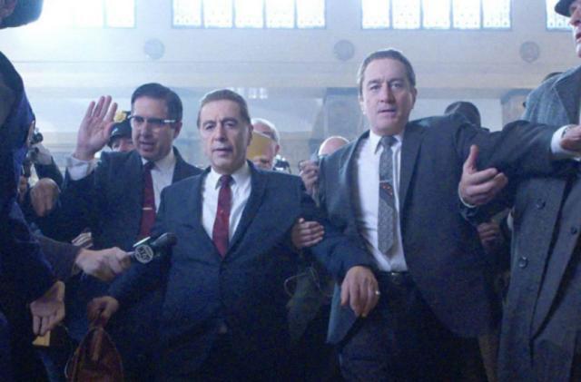 Netflix's 'The Irishman' debuts in select theaters November 1st