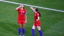 U.S. Soccer's Alex Morgan Taunts England, Sips Tea After Scoring Goal