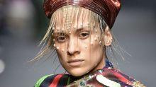Hairstylist Creates Elaborate Headdresses Using Hair Extensions