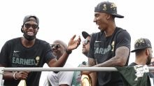 Ex-Celtic Jeff Teague reacts to Bucks' 2021 championship victory