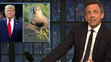 Seth Meyers Baits Donald Trump Over His 'Dumbest' Obsession Yet