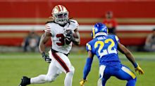 49ers' Hasty the man at closing time; Samuel, Garoppolo finish with bang