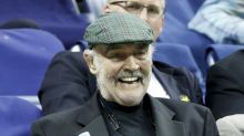 Sean Connery makes rare public appearance at the US Open