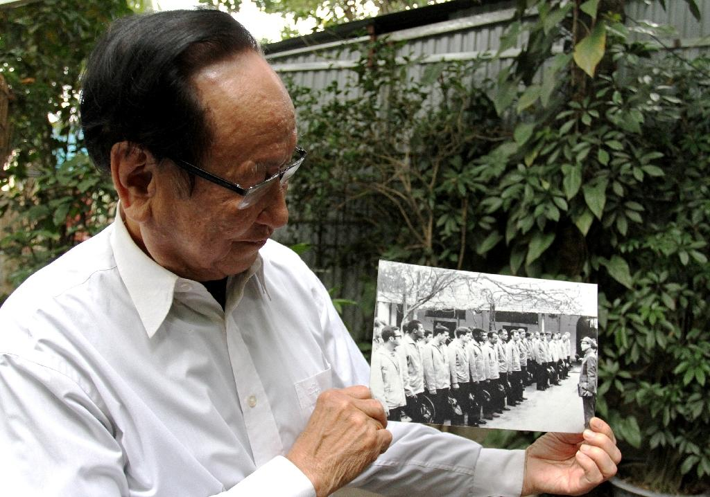 Tran Trong Duyet, the former director of the infamous 'Hanoi Hilton' prison, grew to respect the young John McCain (AFP Photo/Nhac NGUYEN)