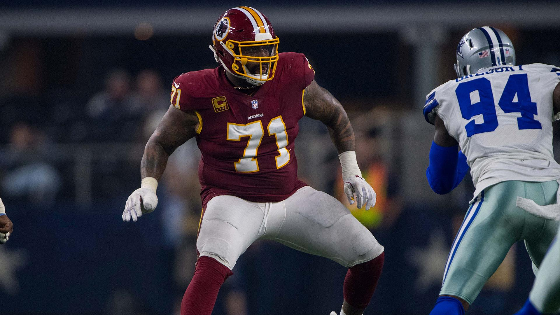 Trent Williams, 49ers agree to restructure final year of contract