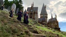 Por una buena causa, cafetería canadiense construye un castillo de Hogwarts ¡100% comestible!